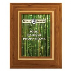 """4""""x6"""" Montego Bay Solid Bamboo Photo Frame"""